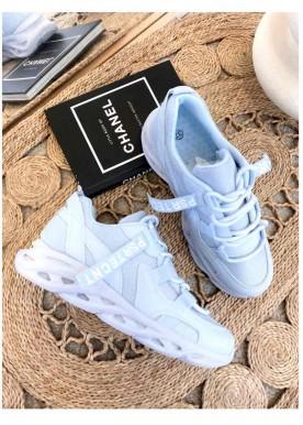 chia sneakers blå