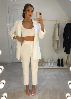 zoe suit white