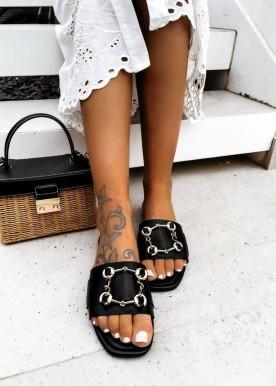 masja slipper black
