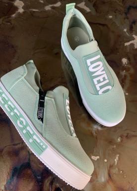 Diva sneakers green