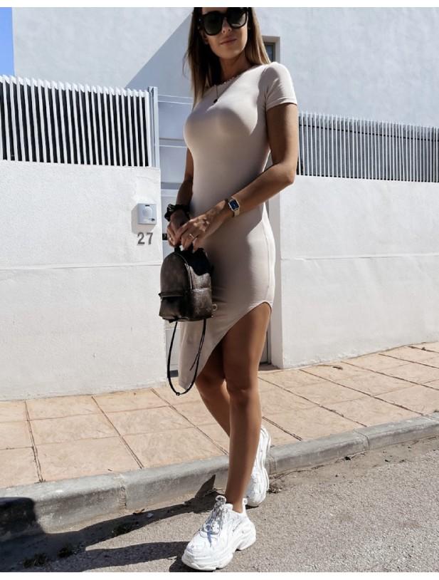 Belino dress beige
