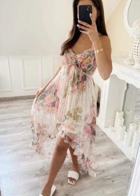 Bellis flower dress