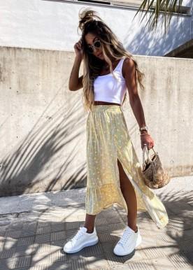 Anita skirt yellow