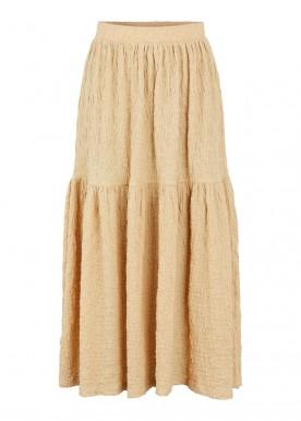 pctamia hw ankle skirt almond buff