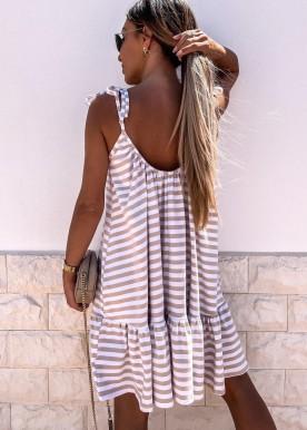 Maise dress Nude Strib