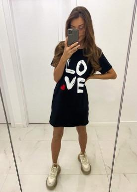 Love tee Black
