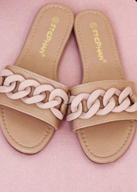 Nina slippers nude
