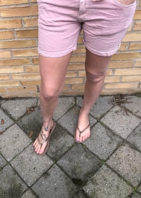 Pepe rosa shorts