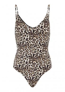 pcgaomi swimsuit black/leo