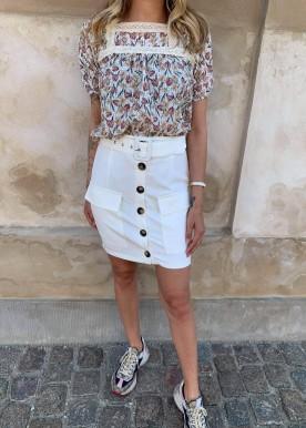 Copperose skirt hvid