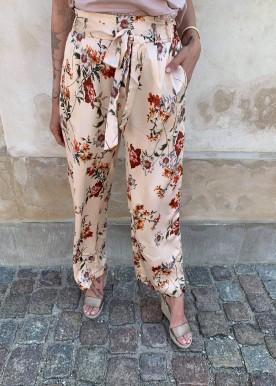 Anita pants flower golden