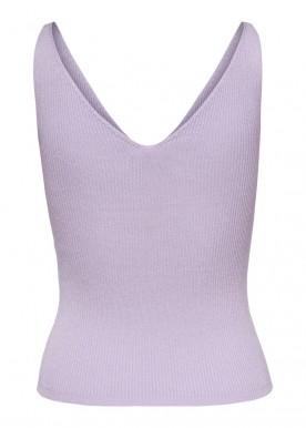 JDYNANNA S/L TOP KNT NOOS Pastel lilac