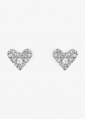 PCTIAMO EARSTUD silver heart