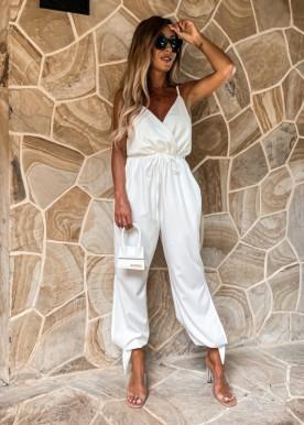 kloe jumpsuit white