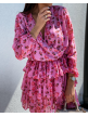 Annika dress pink