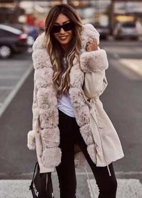 Zelma copperose jacket beige