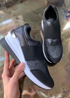 frida sneakers black