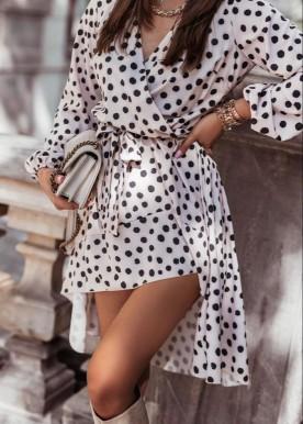 wilda dot dress