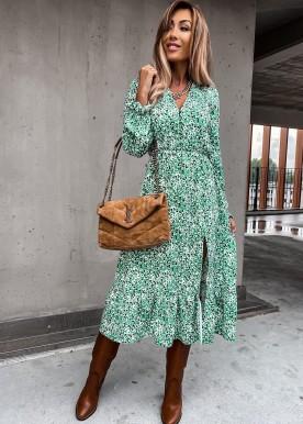 Cara kjole green
