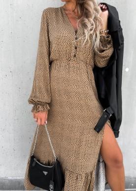 Madison dot dress