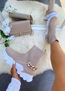 louiz sneakers beige