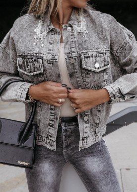 Kanta Grey denim jacket