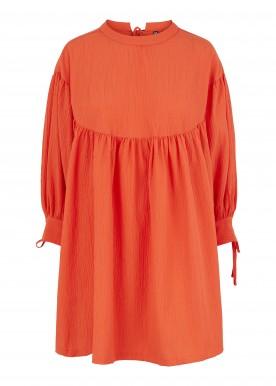 PCSILLE 3/4 DRESS D2D DE cherry tomato