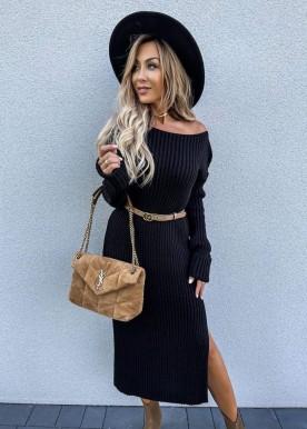 Lissa Knit dress Black