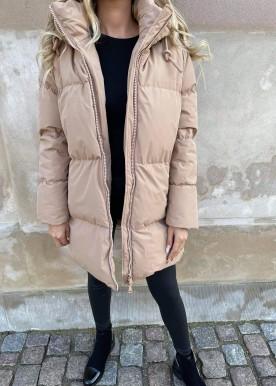 welina puffer jacket camel