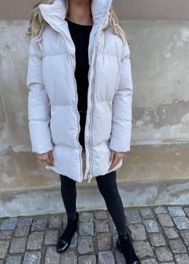 welina puffer jacket beige