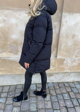welina puffer jacket black