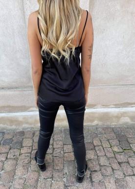 Klarra shine top Black