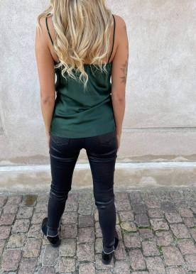 Klarra shine top green