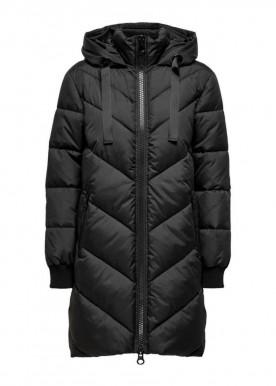 Skylar padded Hood jacket Black