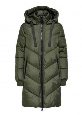 Skylar padded Hood jacket Forest Night