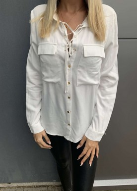 Mira skjorte hvid