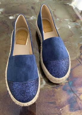 vilma high espadrilles blue