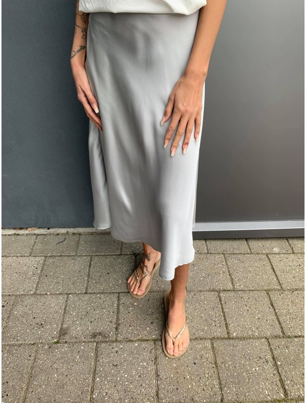 Aviaja skirt grey/silver