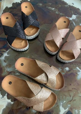 simo slippers black