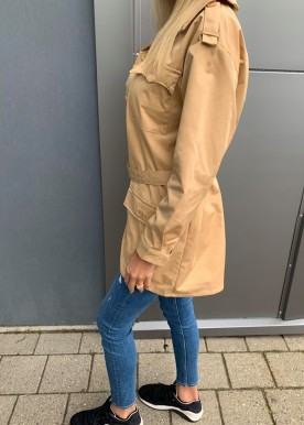 Masja jakke beige