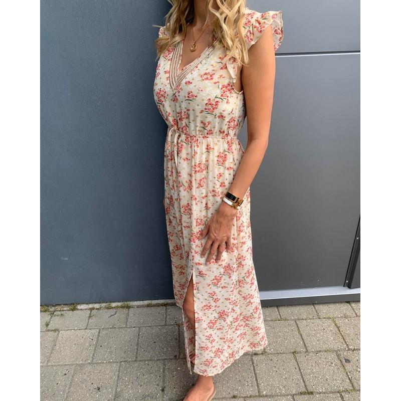 viviana nude dress - Deluxe Clothing