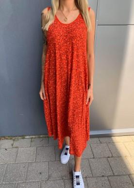 Pipi kjole rød