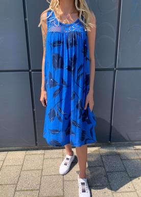 Naomi kjole blå