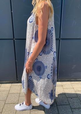 Pam kjole hvid