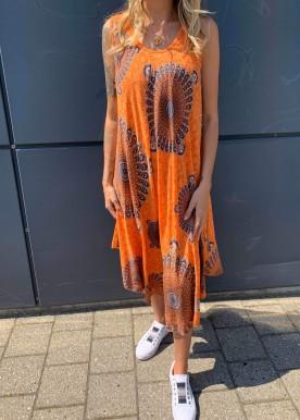 Pam kjole orange