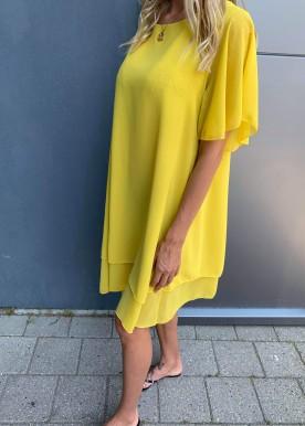 Deb kjole gul