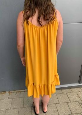 Saga kjole yellow