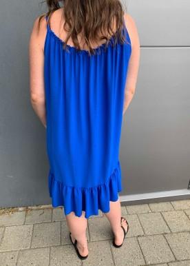 saga kjole royal blue