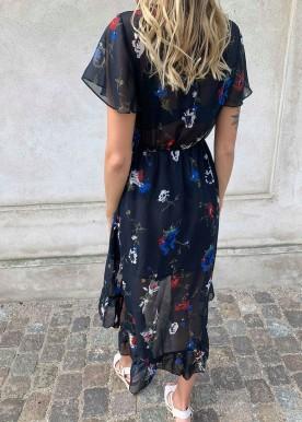 Anja flower dress marine