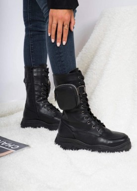 Wonda boot Black shine 55-73